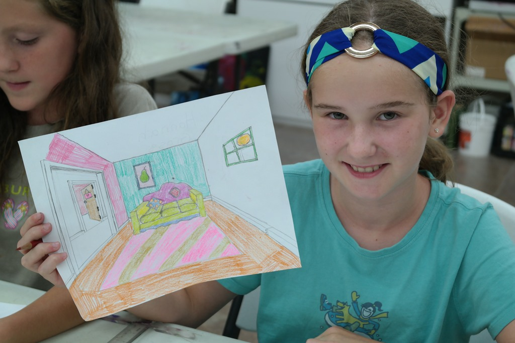 summer 2015 perspective for kids 7 summer 2015 drawing class 6 - Fun Drawings For Kids